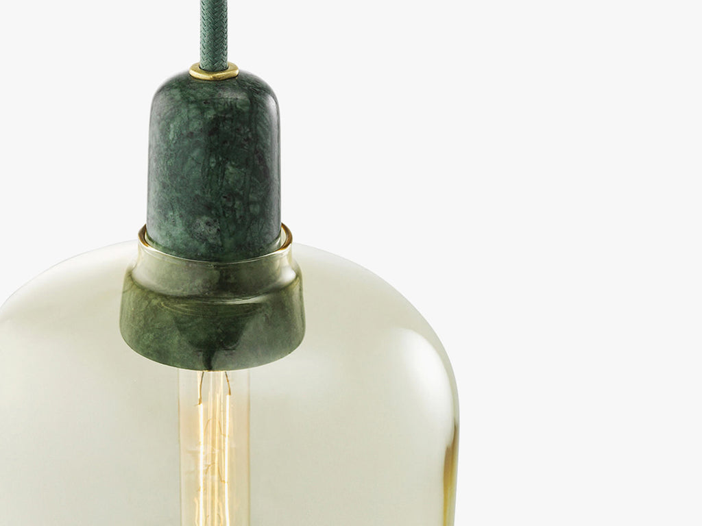 Amp Small, Green/Gold fra Normann Copenhagen