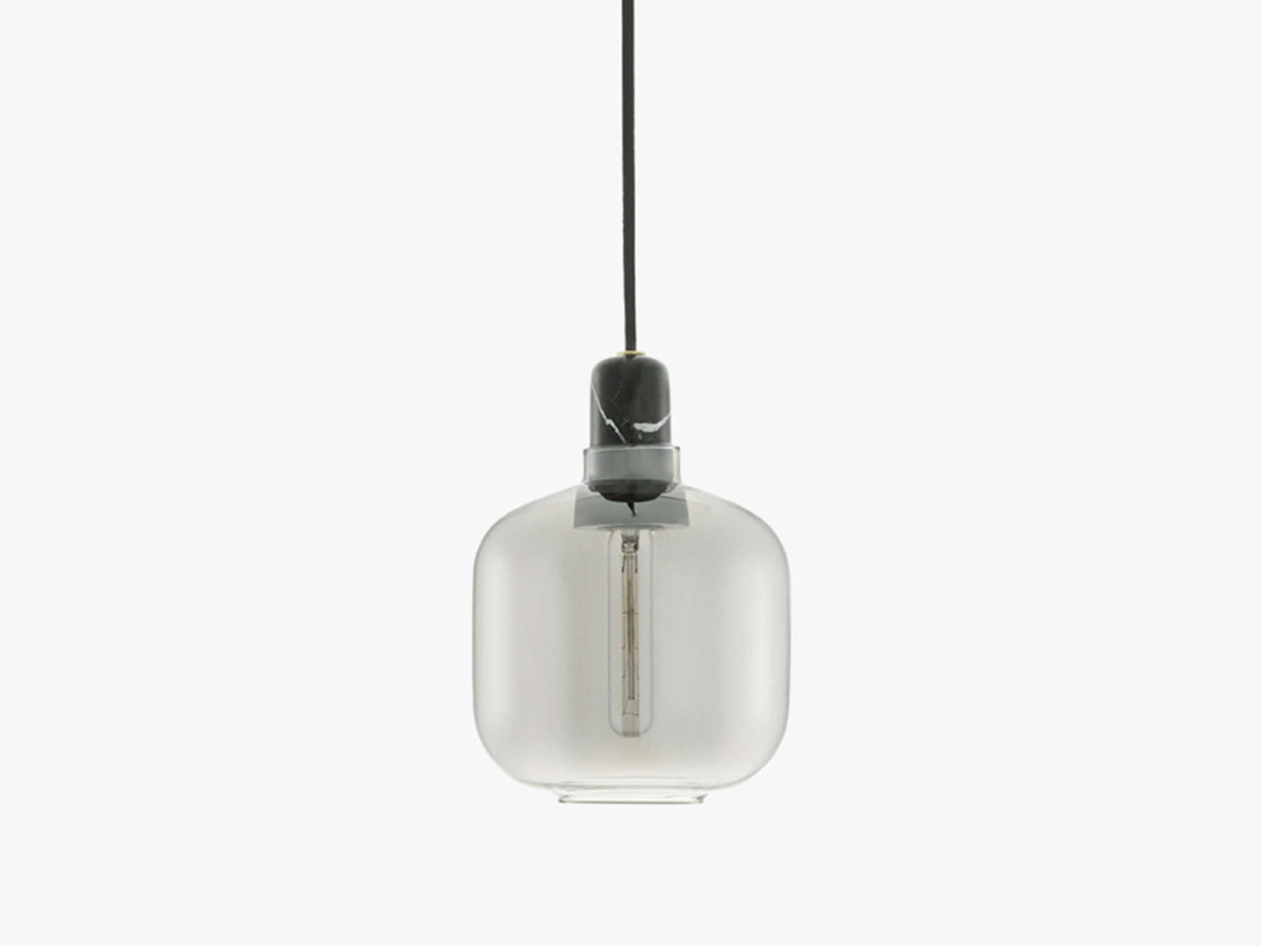 Amp Small, Smoke/Black fra Normann Copenhagen
