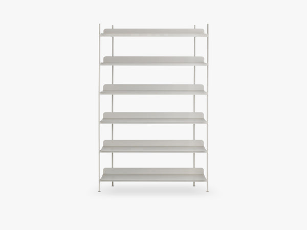 Compile Shelving System / Configuration 4, Grey fra Muuto