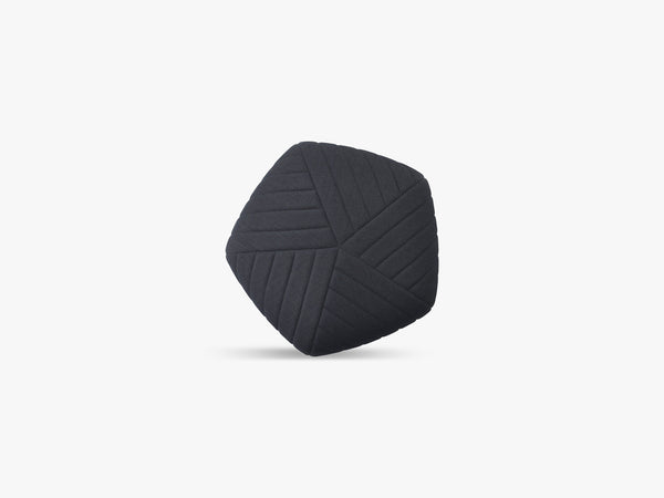 Five Pouf / Small, Dark Grey - Remix 183 fra Muuto