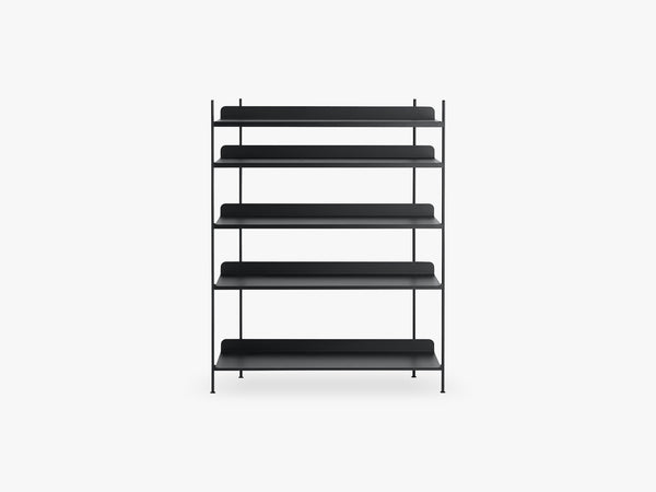 Compile Shelving System / Configuration 3, Black fra Muuto