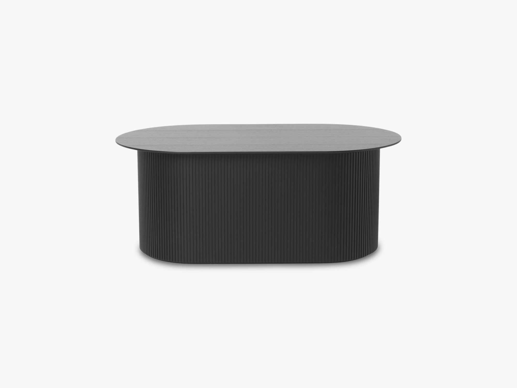 Podia Table Oval, Black fra Ferm Living