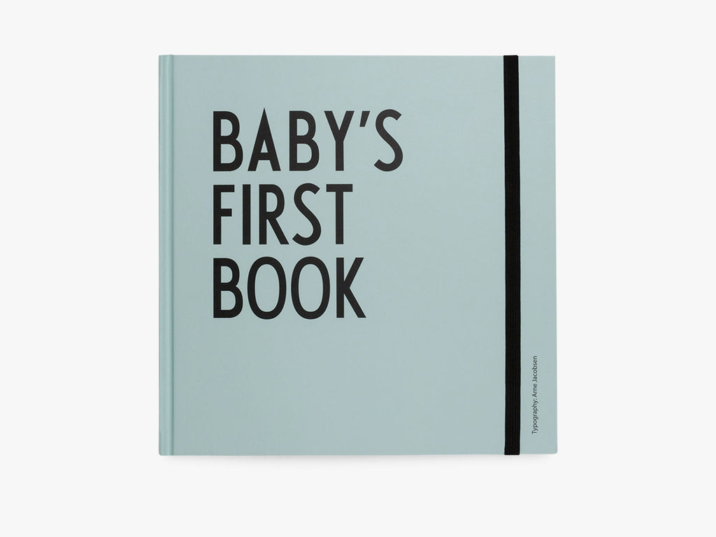 Baby's first book - Turkis fra Design Letters