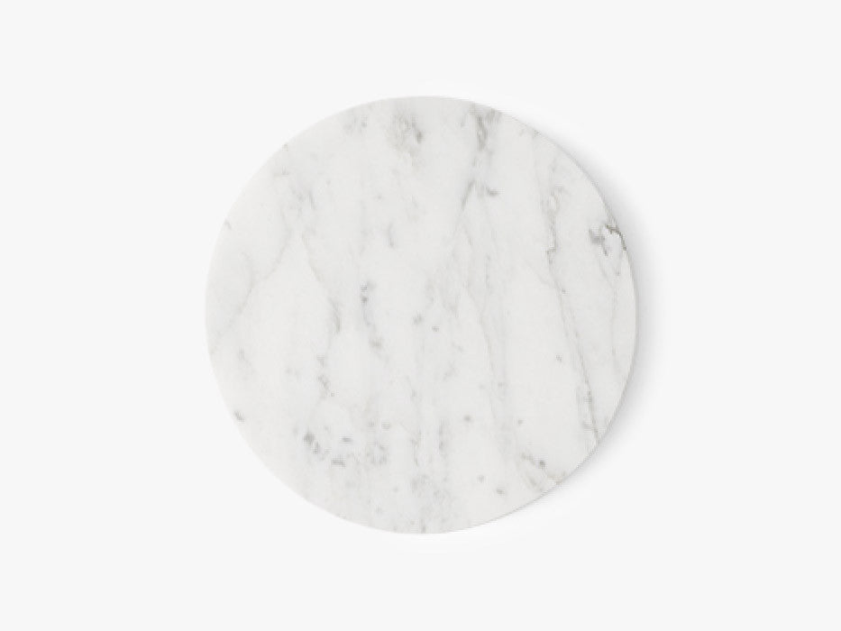 Wire Tabletop, Marble, White fra Menu