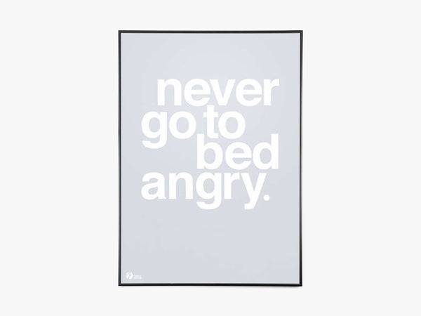 Never Go To Bed Angry, Grey fra By Krohn