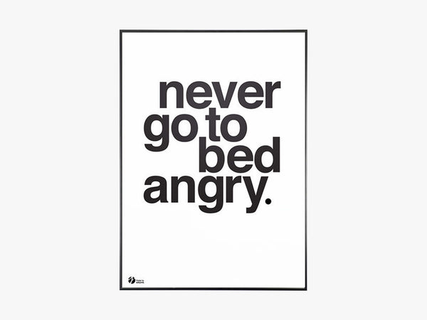 Never Go To Bed Angry, S/H fra By Krohn