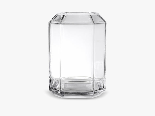 Jewel Vase XL, Clear fra Louise Roe
