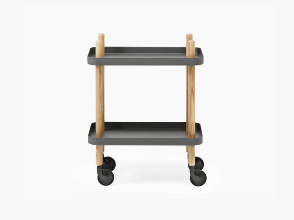 Block Table, Dark Grey fra Normann Copenhagen