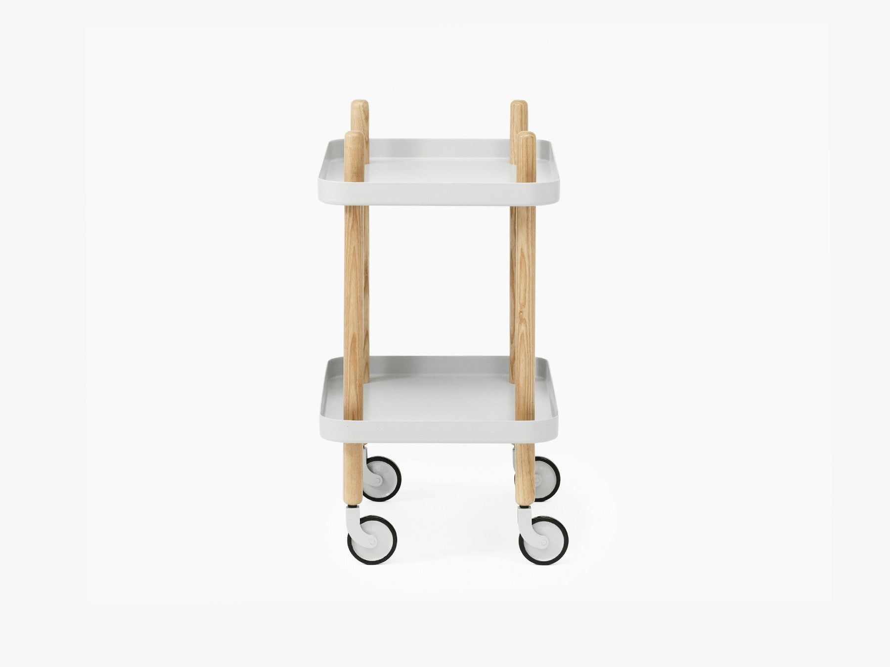 Block Table, Light Grey fra Normann Copenhagen