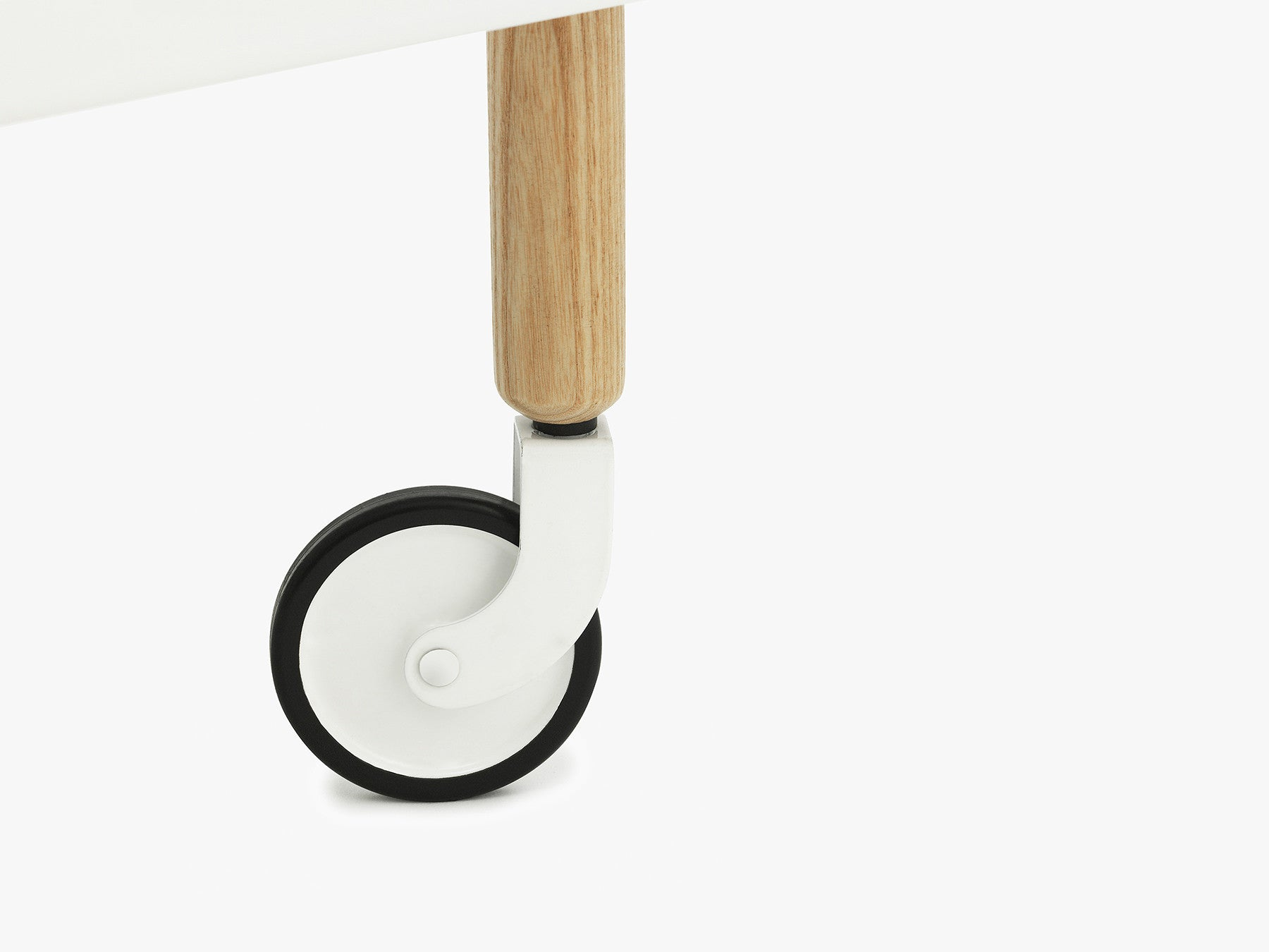 Block Table, White fra Normann Copenhagen