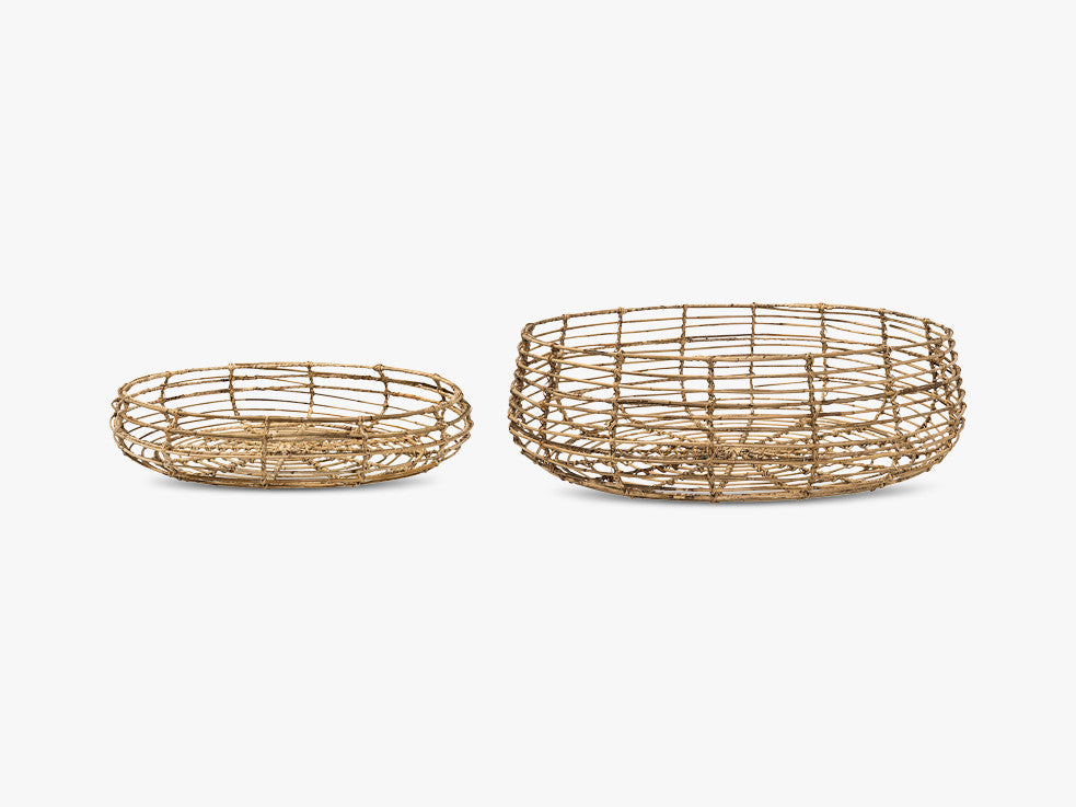 Basket, Nature, Rattan fra Bloomingville
