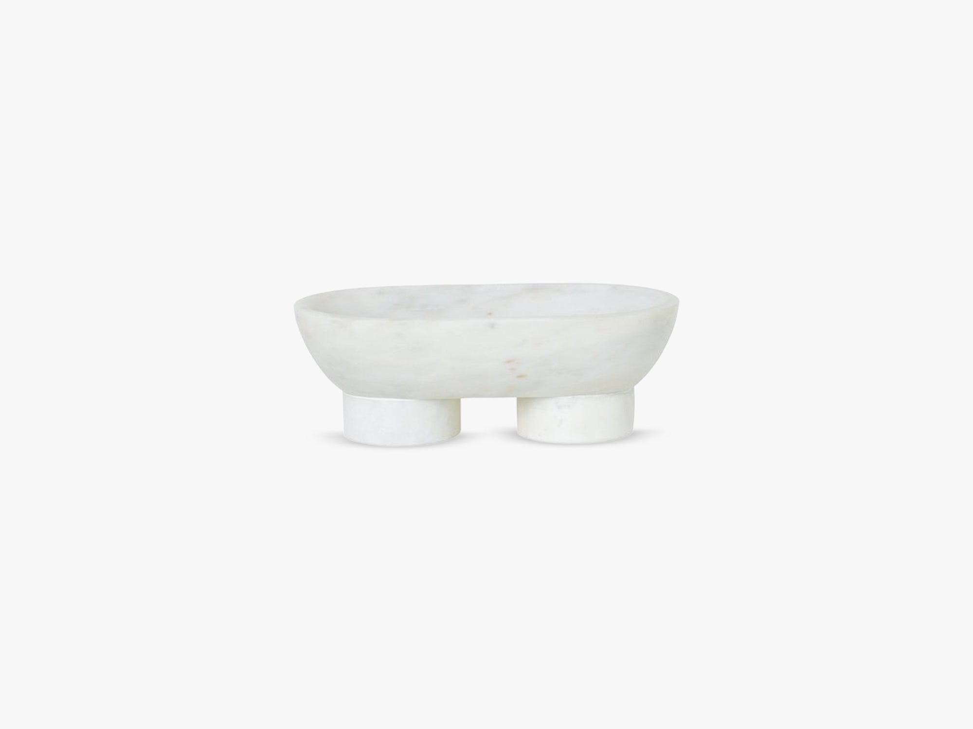 Alza Bowl, White fra Ferm Living