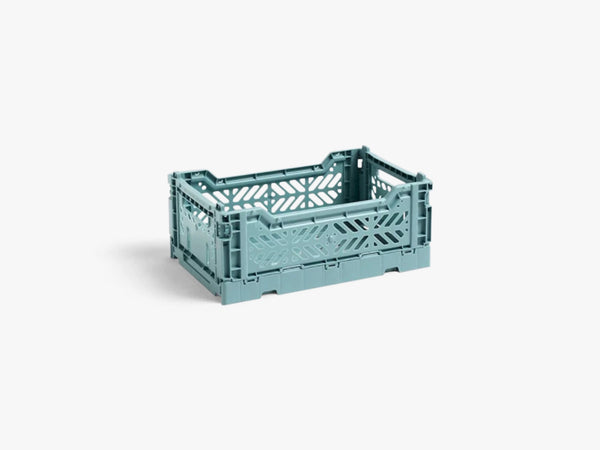 Colour Crate Small, Teal fra HAY