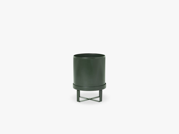 Bau Pot - Small, Dark Green fra Ferm Living