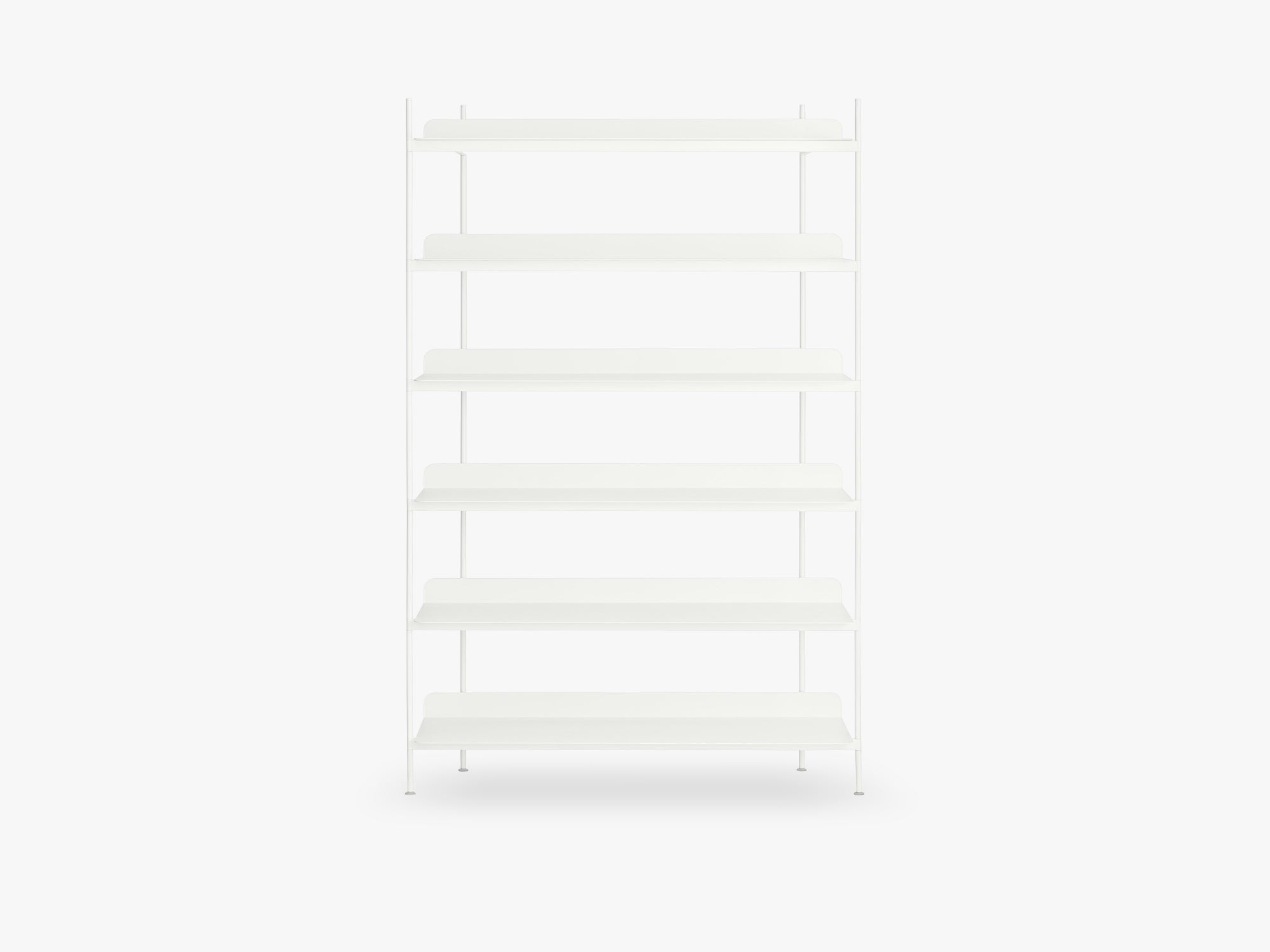 Compile Shelving System / Configuration 4, White fra Muuto
