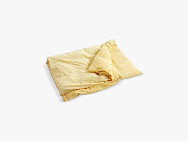 Duo Bed Linen - Duvet, Golden Yellow fra HAY