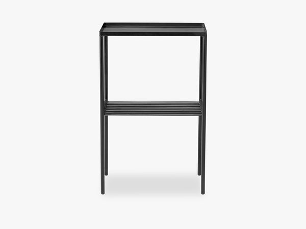 Grid Sidetable, Matte Black fra Bloomingville