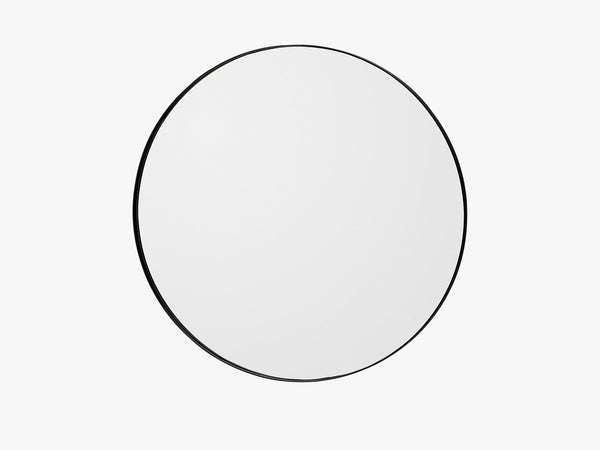 Round Mirror - Medium, Sort fra AYTM