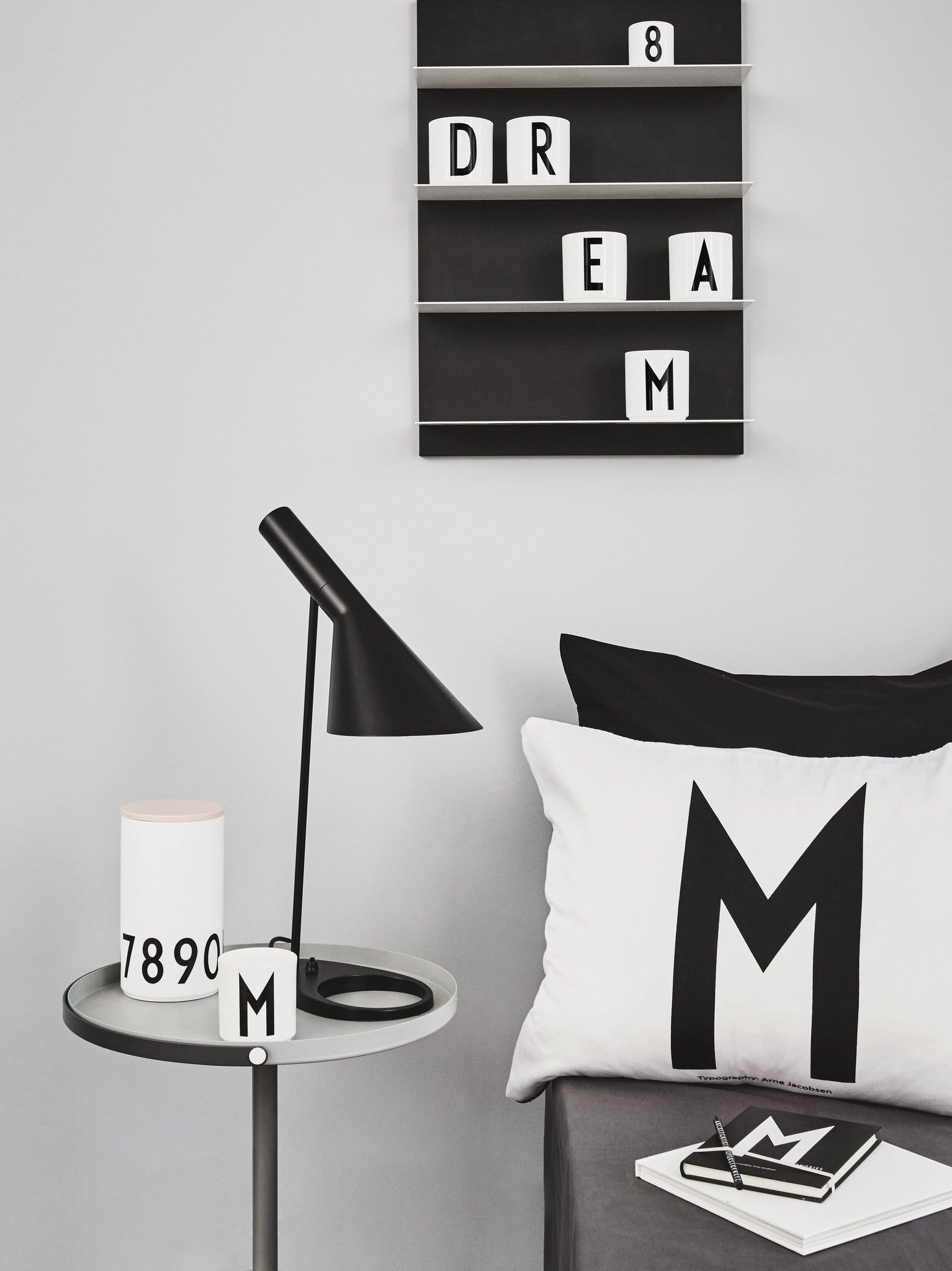 X - PERSONAL PILLOW AJ fra Design Letters