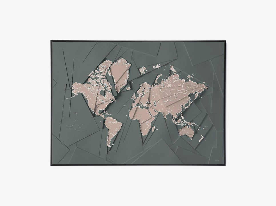 Maps Our World - Green fra ChiCura