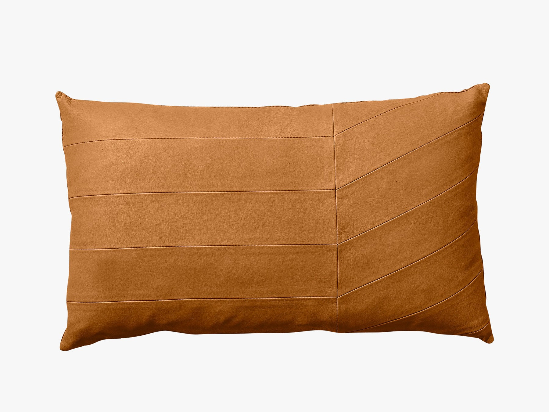 Leather Cushion - Amber fra AYTM
