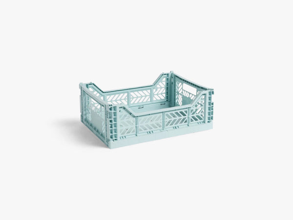 Colour Crate Medium, Arctic Blue fra HAY
