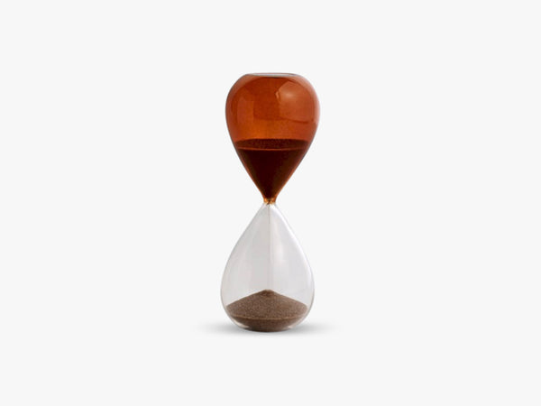 Time - Timeglas M, Burnt Orange fra HAY