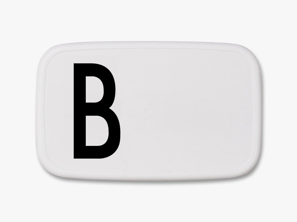 B - Personal Lunch Box fra Design Letters