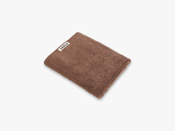 Bath Towel, Kodiak Brown fra Tekla Fabrics