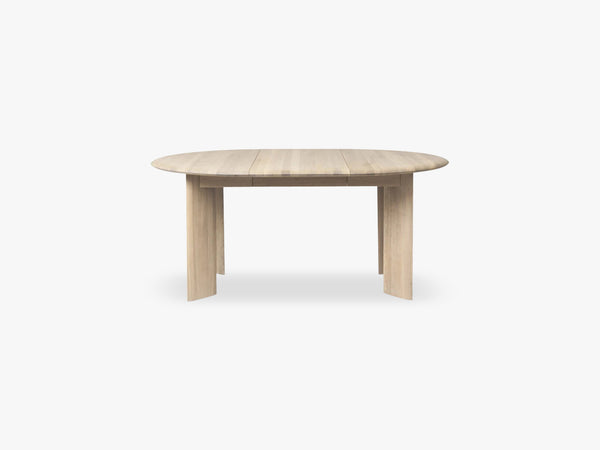 Bevel Table Extendable x 2 - White Oiled fra Ferm Living
