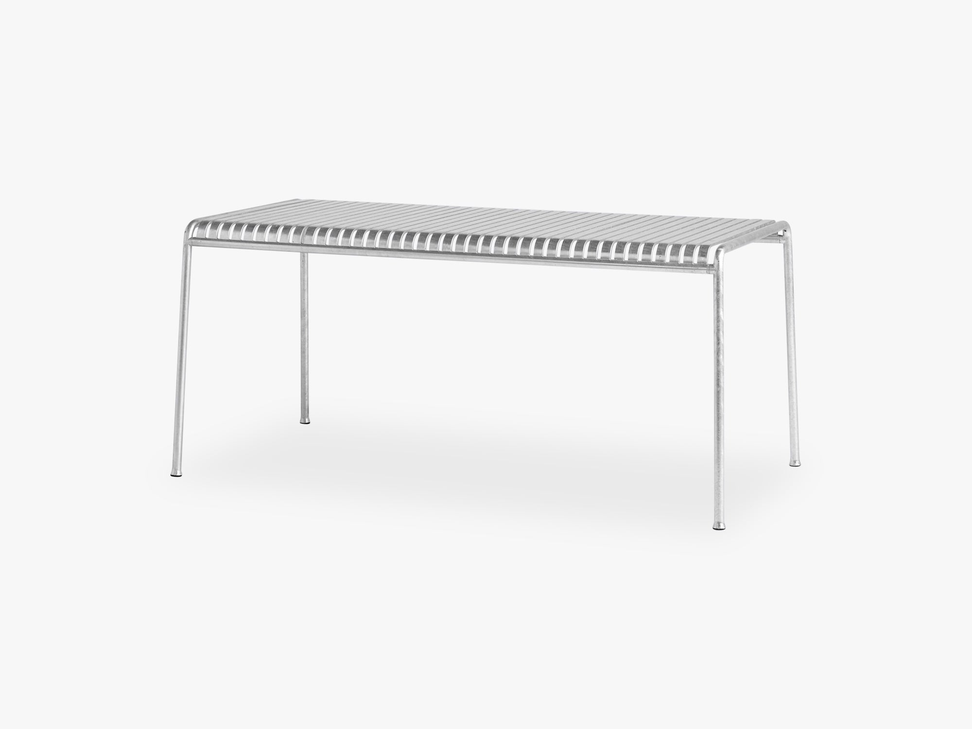Palissade Table - Large, Hot Galvanised fra HAY