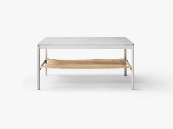 Mies Lounge Table Grey/Pearl Grey Marble fra MILLION