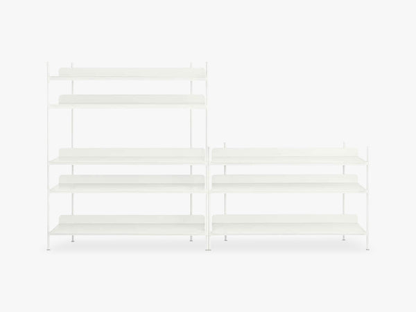 Compile Shelving System / Configuration 7, White fra Muuto