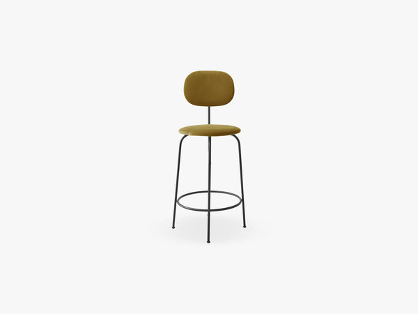 Afteroom Counter Chair Plus, Black/City Velvet CA7832/060 fra Menu