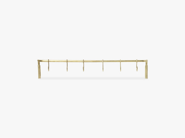 Kitchen Rod 6 hooks,Brass fra Ferm Living