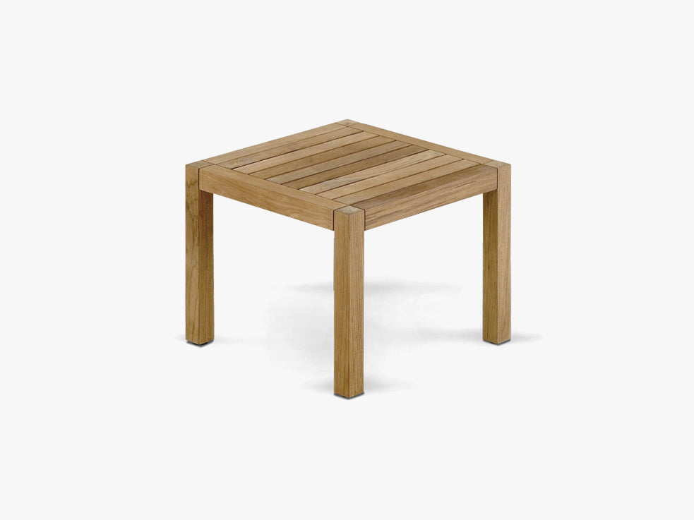 Square Table, Small, Teak fra SKAGERAK