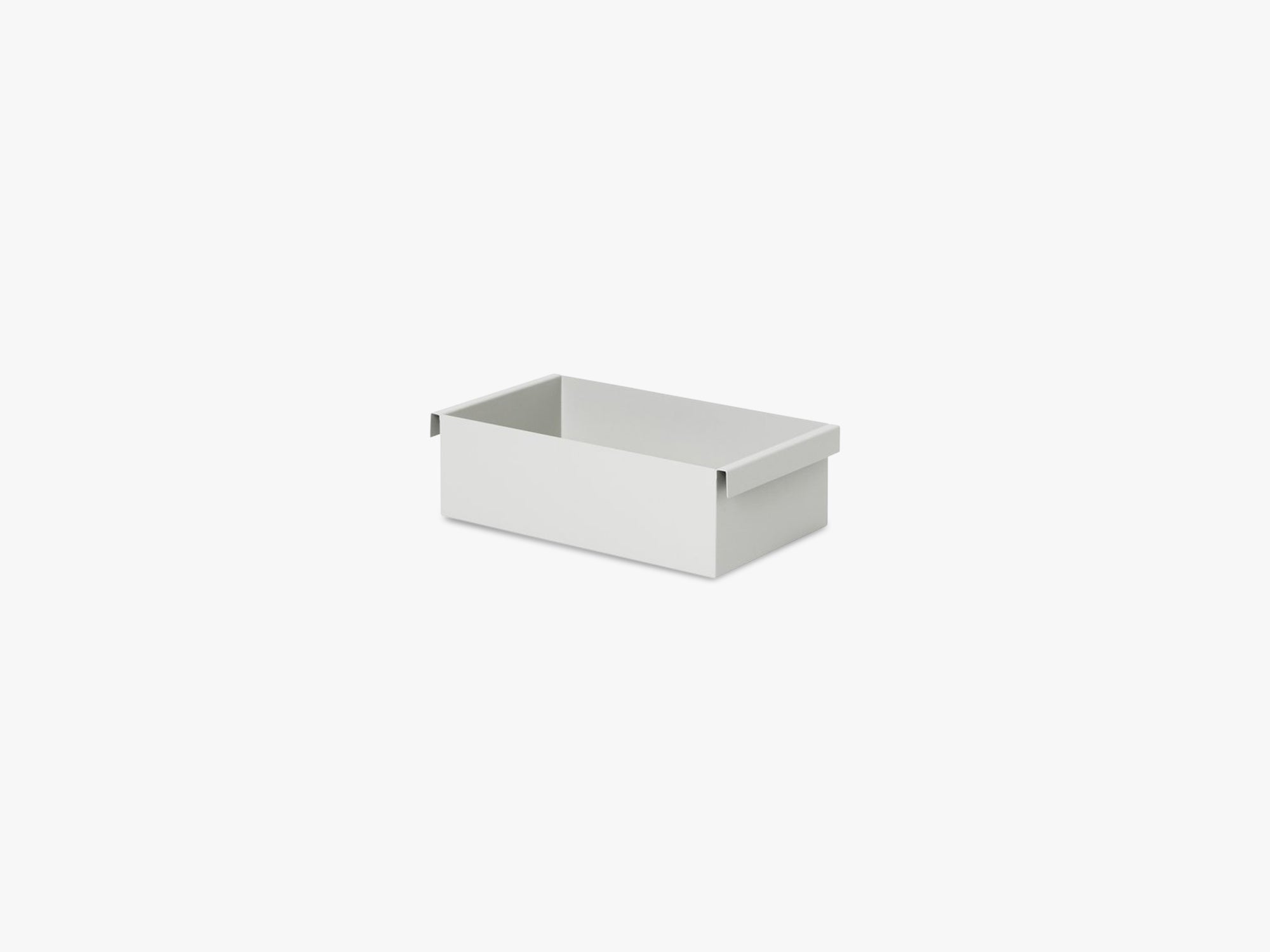 Plant Box Container, Light Grey fra Ferm Living