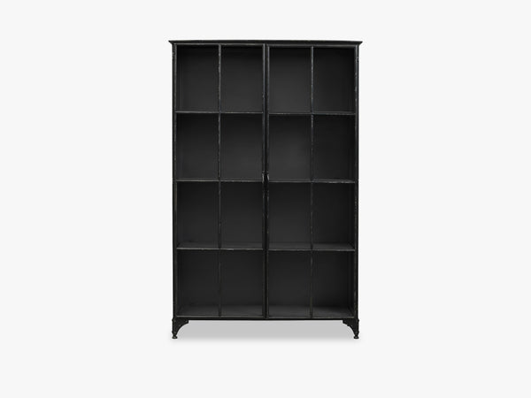 DOWNTOWN iron cabinet, black - small fra Nordal