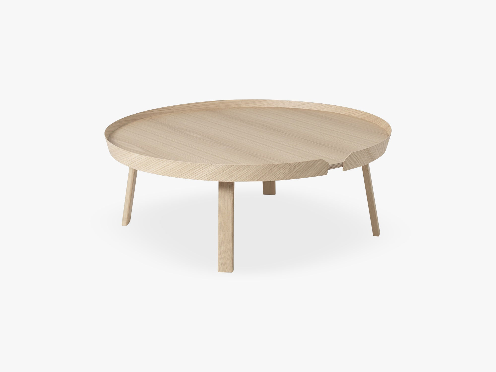 Around Coffee Table - Xl - Extra Large, Oak fra Muuto