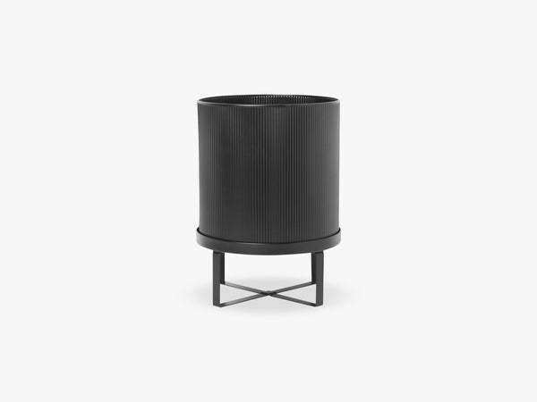 Bau Pot - Large, Black fra Ferm Living