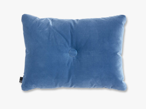 Dot Cushion Soft, Blue fra HAY