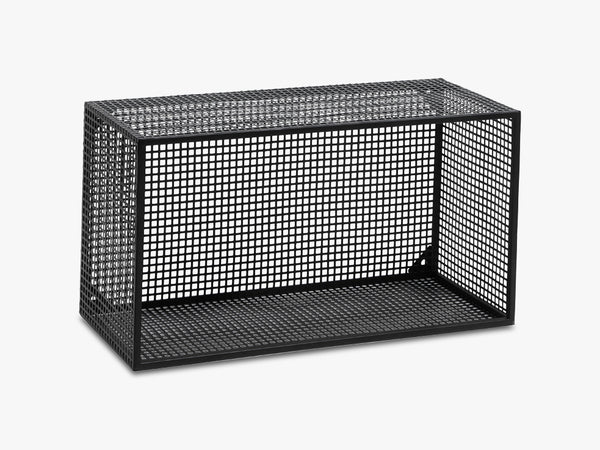 WIRE box for wall, black fra Nordal