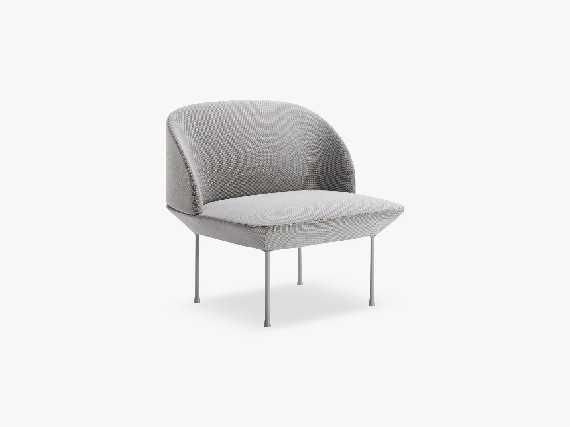 Oslo Lounge Chair / Lounge Chair, Steelcut 160 / Light Grey Legs fra Muuto