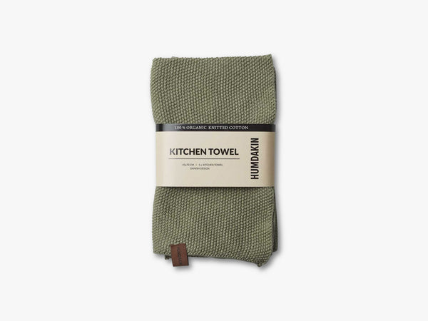 Knitted Kitchen Tea Towels, Oak fra HUMDAKIN