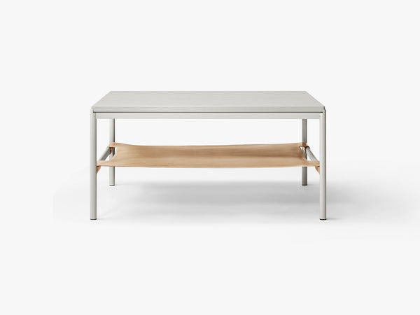 Mies Lounge Table, Grey/Grey Oak Veneer fra MILLION