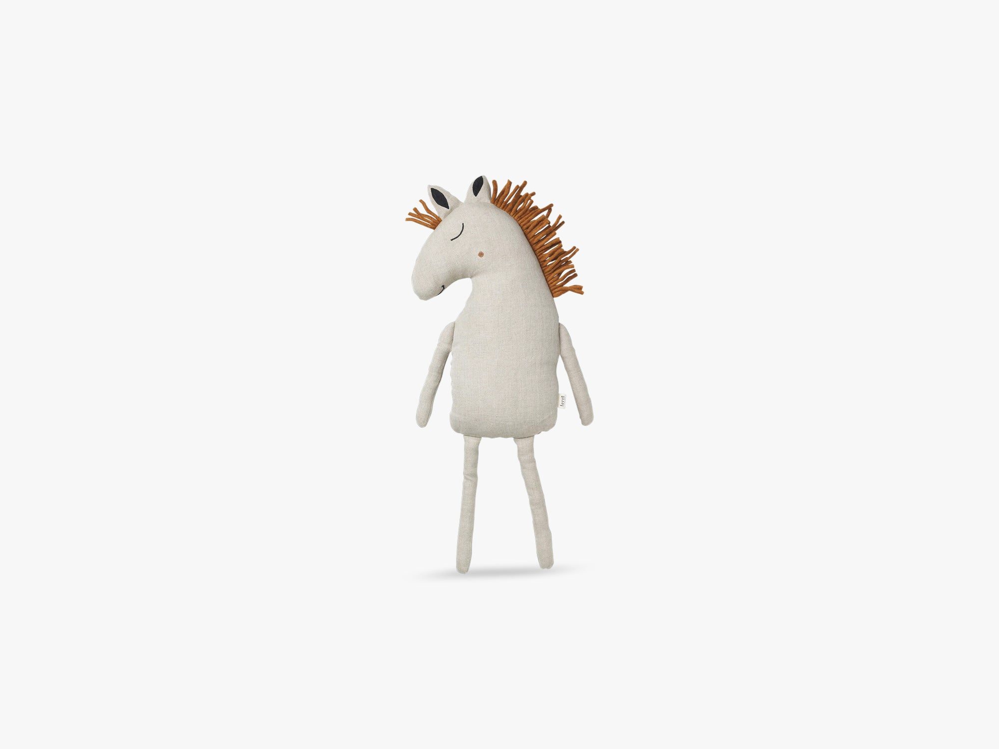 Safari Cushion Horse, Natural fra Ferm Living