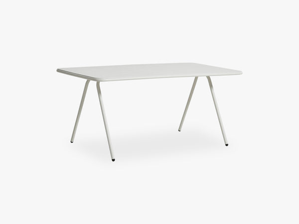 Ray Dining table 160, White fra WOUD