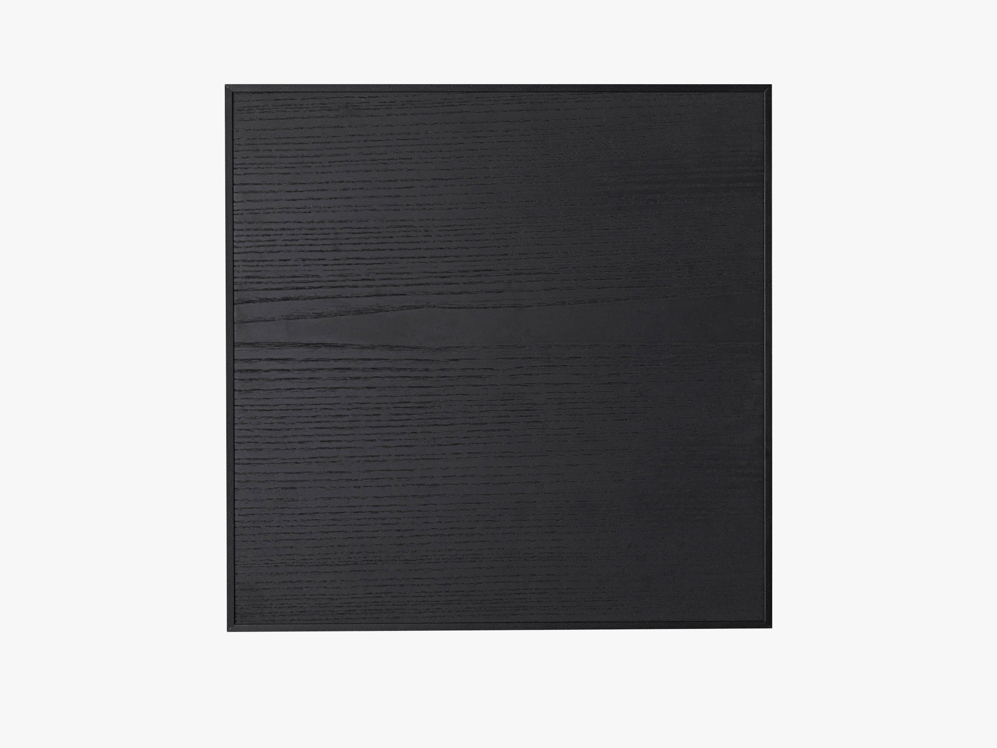 Illustrate noticeboard, 42x42, black stained ash, inkl 4 magnets fra By Lassen