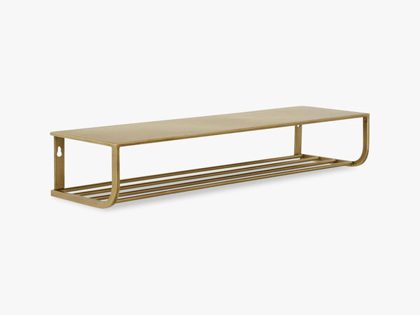 Shelf, metal, gold, S fra Nordal