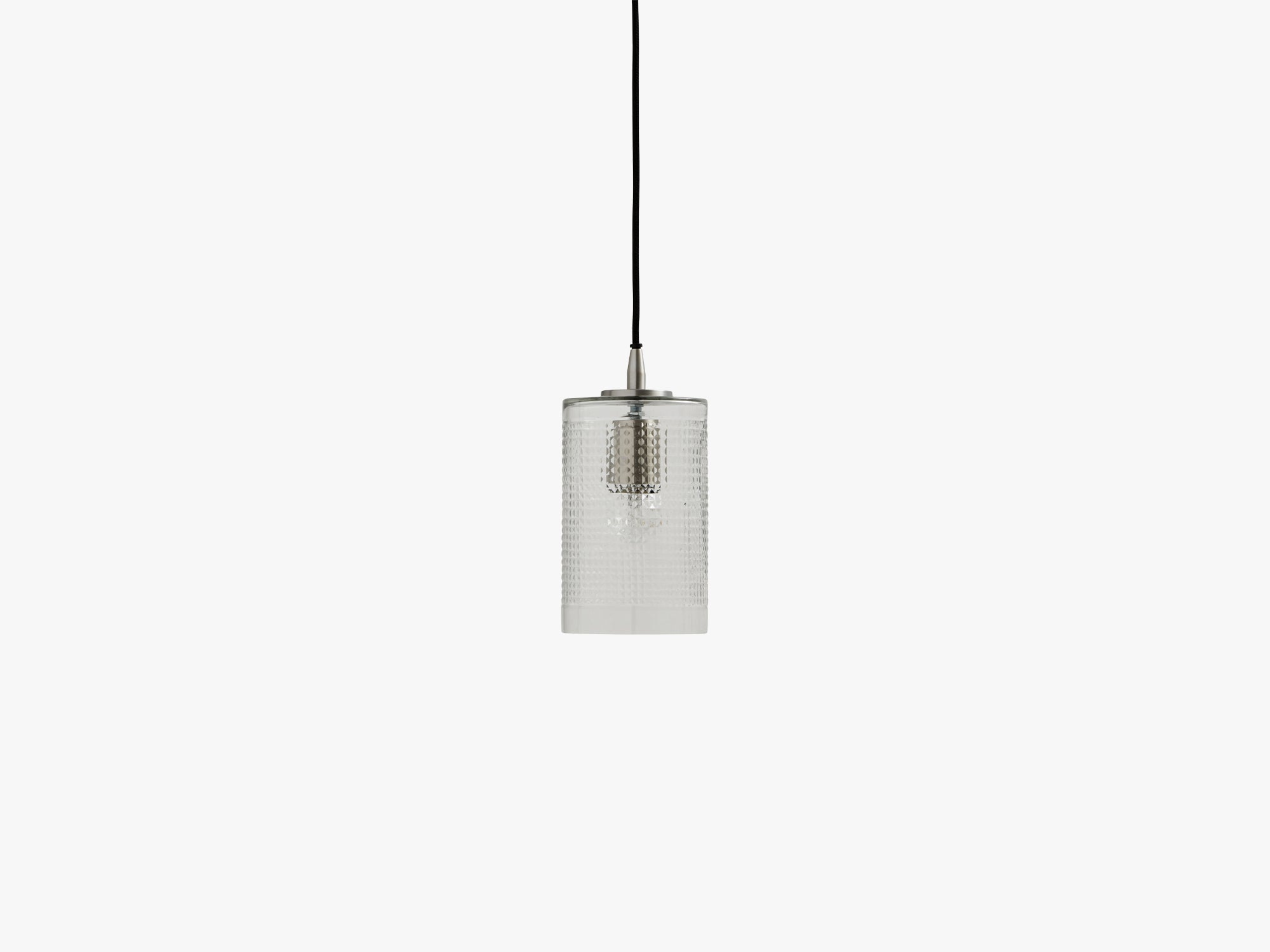 Bright cylinder hanging lamp, clear fra Nordal